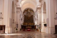 Kathedrale von ² Sans Nicolà l'Arena, Catania Lizenzfreie Stockfotos