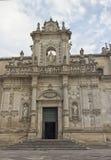 Kathedrale von Santa Maria Assunta in Lecce Stockbild