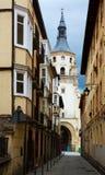 Kathedrale von Santa Maria de Vitoria Vitoria-Gasteiz, Spanien Lizenzfreies Stockfoto