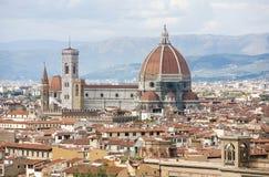 Kathedrale von Santa Maria del Fiore in Florenz Stockfotos