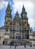 Kathedrale von Santiago de Compostela lizenzfreie stockbilder