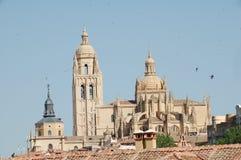 Kathedrale von Segovia Lizenzfreie Stockfotos