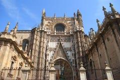 Kathedrale von Sevilla Lizenzfreie Stockbilder