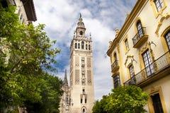 Kathedrale von Sevilla, Spanien Stockfotos