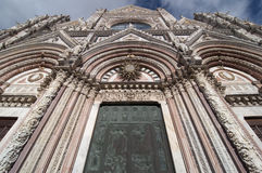 Kathedrale von Siena, Italien. Stockfotografie