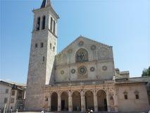 Kathedrale von Spoleto stockbild
