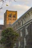 Kathedrale von St Albans Stockfoto