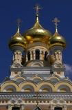 Kathedrale von St. Alexander Nevsky - Jalta Stockfotos