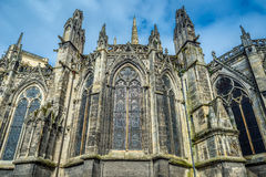 Kathedrale von St. Andre im Bordeaux, Frankreich Stockbilder