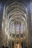 Kathedrale von St. Andre im Bordeaux, Frankreich Lizenzfreie Stockfotos