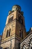 Kathedrale von St Andrew der Apostel in Amalfi, Italien lizenzfreies stockfoto