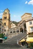 Kathedrale von St- Andrew oder Duomodi San Andreas Amalfi, Campa Stockbilder