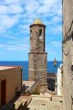 Kathedrale von St Anthony, Castelsardo, Sardinien, Italien Lizenzfreie Stockfotos