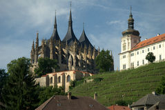 Kathedrale von St. barobry Lizenzfreie Stockbilder