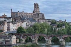 Kathedrale von St Cecilia von Albi stockfoto