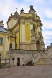Kathedrale von St George - die griechischer Katholisch-hauptsächlichkathedrale, Lemberg, Ukraine stockfotos