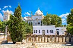 Kathedrale von St Louis Karthago, Byrsa-Hügel, Tunesien Lizenzfreie Stockfotografie