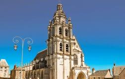 Kathedrale von St. Louis von Blois, Frankreich Stockbilder