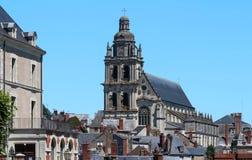 Kathedrale von St. Louis von Blois, Frankreich Lizenzfreie Stockfotografie