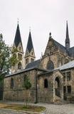 Kathedrale von St. Sephan, Halberstadt, Deutschland lizenzfreie stockfotos