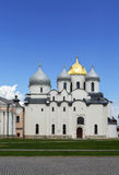 Kathedrale von St. Sophia The Wisdom Of God, Veliky Novgorod Stockbild