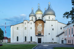 Kathedrale von St. Sophia The Wisdom Of God, Veliky Novgorod Stockfotos