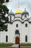 Kathedrale von St. Sophia The Wisdom Of God, Veliky Novgorod Stockbilder