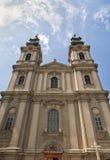 Kathedrale von St Teresa von Avila in Subotica Stockbilder