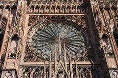 Kathedrale von Straßburg Lizenzfreie Stockbilder