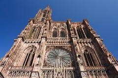Kathedrale von Straßburg Stockfoto