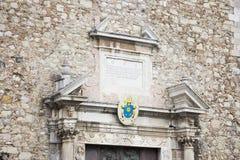 Kathedrale von Taormina lizenzfreie stockfotos