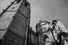 Kathedrale von Valencia Stockbild