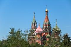 Kathedrale von Vasily Blessed stockfoto