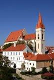 Kathedrale von Weihnachtsmann - Znojmo Stockfotos