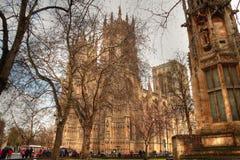Kathedrale in York Lizenzfreie Stockbilder