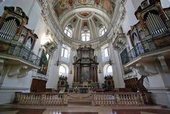 Kathedralealtar lizenzfreies stockbild
