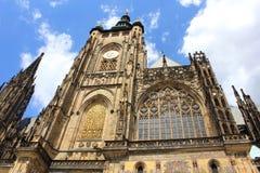 Kathedralefassade Str Lizenzfreie Stockfotografie