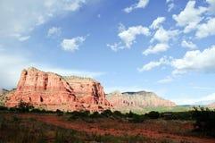 Kathedralefelsen bei Sedona Arizona Stockfotos