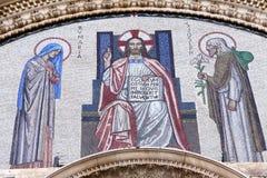 Kathedralefries Stockfoto