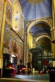Kathedraleinnenraum Lizenzfreie Stockfotos