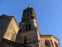 Kathedralekontrollturm Bamberg Lizenzfreies Stockfoto