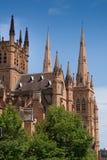 Kathedralenäußeres, Sydney Australia Stockbild