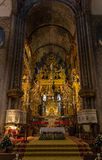 Kathedralen-Altar Stockfotografie