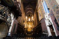 Kathedralen-Basilika der Annahme, Lemberg Stockfotografie