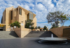 Kathedralen-Hof stockfoto