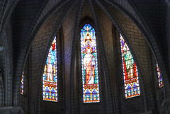 Kathedralen-Katholisch-Kathedrale Lizenzfreies Stockfoto
