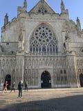 Kathedralen-Kirche von St Peter in Exeter, Devon, Großbritannien Stockbild