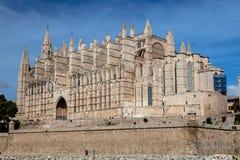 Kathedralen-La Seu Palma de Mallorca stockfoto