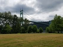 Kathedralen-Park stockbild