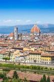 Kathedralen-Santa Maria-dei Fiore in Florenz, Italien Lizenzfreie Stockbilder